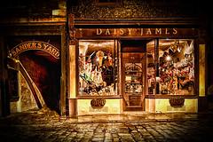 A Wet Evening in Whitby (Mark Heslington Photography) Tags: uk england shop james coast yorkshire united north goth kingdom dracula whitby daisy hdr
