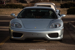 Beautiful (Hunter J. G. Frim Photography) Tags: black silver italian colorado 360 ferrari modena supercar v8 ferrari360 ferrari360modena carsandcoffee