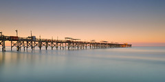 Sunrise at the Redington Long Pier (josesuro) Tags: longexposure beach digital sunrise landscapes florida piers 2016 redingtonbeach floridagulfcoast leebigstopper afsnikkor1835mmf3545ged jaspcphotography nikond750
