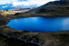 Snowdonia (mlomax1) Tags: blue lake mountains nature water pool wales clouds canon buildings landscape pond outdoor cymru pass eos600d