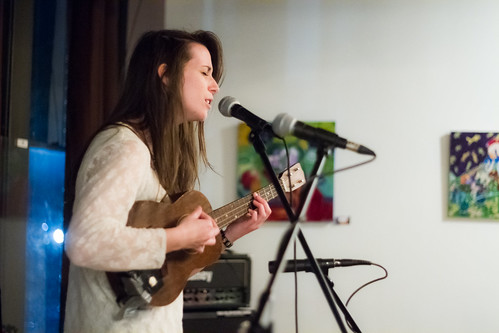 Amy Godwin performs at Macon's The 567 on Jan 27, 2012