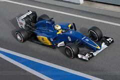9 Sauber C35 - Ericsson . 2016 F1 Test Days Barcelona _1031 (antarc foto) Tags: sauber f1 marcus ericsson test days 2016 circuit de catalunya barcelona formula1 formulaone racing motorsport formula one c35