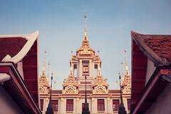 Around Rattanakosin (Elmar Bajora Photography) Tags: architecture thailand temple los asia asien southeastasia sdostasien bangkok buddhist buddhism landmark thai wat siam tempel culturalheritage buddhismus rattanakosin krungthep  ratchanatdaramworavihara