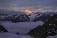 First light at Weisshorn N2 (Bernhard_Thum) Tags: alps sunrise earlymorning wallis weisshorn carlzeiss thum rockpaper bishorn brunegghorn elitephotography landscapesdreams capturenature bernhardthum sonyrx100ii