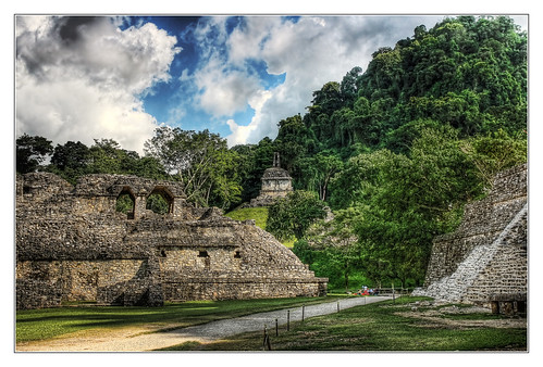 Palenque MEX - Palace and  Cross Complex
