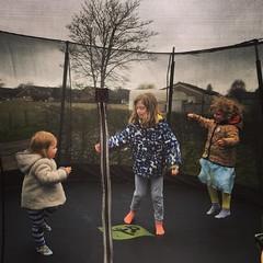 Vi, Hazel and Robyn. Bounce. Bounce. Bounce. (galvogalvo) Tags: hazel robyn bounce vi instagram