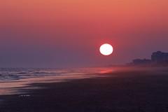 the beach, near sunset ~ Southern Outer Banks (j van cise photos) Tags: beach southernouterbanks crystalcoast sunset boguebanks atlanticocean eastcoast seascape seaisle northcarolina sun easternseaboard evening