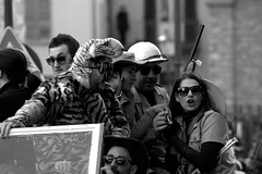 Carnival safari (mttdlp) Tags: carnival mask carnevale bianco nero maschere 70300 bobbio