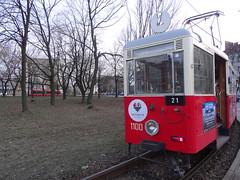 Przystanek Katowice 05.03.2016 046 (urszmacz) Tags: stary katowice spacer tramwaj przystanek niadanie
