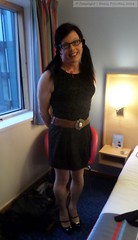 LFF April 2016 (Girly Emily) Tags: crossdresser cd tv boytogirl mtf maletofemale tvchix trans transvestite transsexual tgirl tgirls convincing dress feminine girly cute pretty sexy transgender glasses leeds lff xdresser gurl