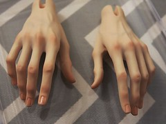 Kai's hands (MiriDoll) Tags: hands bjd blushing venitu 5thmotif
