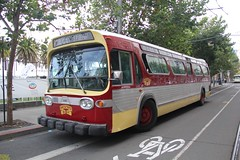 1969 GMC T8H-5305 #3182 (busdude) Tags: sf 1969 san francisco railway muni gmc municipal sanfranciscomunicipalrailway 3287 t8h5305