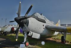 Fairey Gannet T.2 (HDR) (Bri_J) Tags: uk nikon aircraft fairey coventry hdr airmuseum gannet t2 royalnavy aviationmuseum midlandairmuseum warks d7200