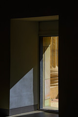 Through A Window (nydavid1234) Tags: light shadow window architecture nikon architecturaldetail column stark chiaroscuro d600 nydavid1234