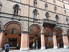 Neogothic building (end 19th-beginning 20th century) at Bologna (* Karl *) Tags: italy building architecture bologna neogothic