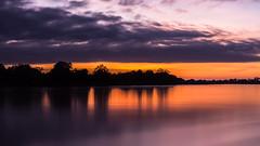 Sunrise on the Luangwa River (Julien Nyczak) Tags: africa longexposure sunset sunrise river nationalpark nikon lee hippo hippopotamus nikkor zambia crocodiles crocs southluangwa luangwa longexposurephotography d7100 1685mm nikkor1685 bigstopper leebigstopper nikond7100