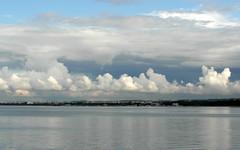 clouds over sopot (kexi) Tags: sky water june clouds bay cloudy samsung poland polska balticsea baltic polen polonia sopot pologne 2015 instantfave wb690