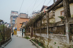 [333] - streets (jathdreams) Tags: street travel india building vintage fence landscape nikon outdoor grunge rustic streetphotography wanderlust darjeeling streetscape travelphotography northeastindia incredibleindia nikond5100