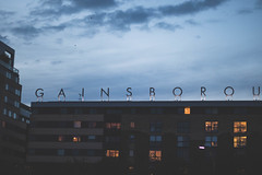 Untitled (JRS-IW-Photography) Tags: park uk blue homes england sky colour building london skyline clouds canon typography lights soft snap shoreditch hackney lettering dslr untitled muted 750d