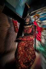 Way to Golgotha (FotoGrazio) Tags: motion art church contrast photomanipulation easter worship catholic christ cross display faith philippines religion jesus belief christian crucifix catholicism stationsofthecross crucifixion savior jesuschrist goodfriday forgiveness crucified sonofgod blurfilter phototopainting phototoart acrosstobear believeinme onlybegottenson sinsoftheworld carryingacross fotograzio waynegrazio dyingforthesinsoftheworld