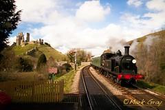 Steam Engine - 30053 - M7 Class - LSWR (Mark Gray Photos) Tags: castle train engine railway steam dorset corfe swanage