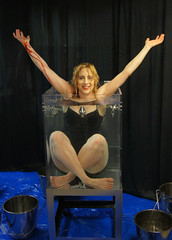 Houdini Girl does it again! (Dayle Krall:Most Accomplished Female Escape Artist) Tags: houdini waterescape richardsherry daylekrall ladyhoudini sherryandkrallmagic thehoudinigirl