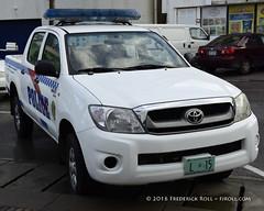 Police Toyota Pick-up ( Freddie) Tags: police pickup toyota stmaarten sintmaarten philipsburg policevehicle dutchcaribbean thefriendlyisland