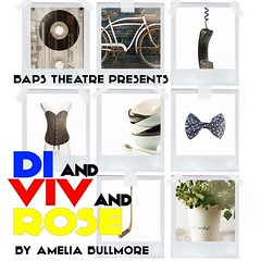 DI AND VIV AND ROSE by Amelia Bullmore @BAPSTheatre @JoshuaBrooksMCR 20-23 July 2016 @GMFringe (gmfringe) Tags: life uk blue friends red summer england people white plant playing hockey nature students field bike bicycle sport yellow festival bar manchester actors pub women university phone friendship cheshire northwest theatre herbs britain stage telephone events yorkshire wheels performance bowtie fringe lancashire entertainment pitch stick boxes northern drama coriander cassette shelves basque downstairs crisis growingup baps matinee charlesstreet coronationstreet c86 princessstreet posterdesign joshuabrooks ameliabullmore louisewilson whatson diandvivandrose july2016 gmfringe greatermanchesterfringe