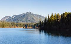 Blue Morning (John Westrock) Tags: trees mountain lake nature water landscape bluesky pacificnorthwest washingtonstate canonef2470mmf28lusm easton canoneos5dmarkiii johnwestrock