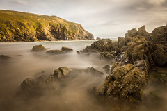 Sea Mist (First_Light_Photography) Tags: sea beach water wales landscape rocks long exposure 10 cliffs stop nd pembrokeshire density neutral