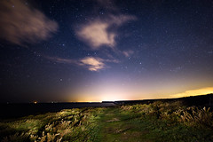 Seven Sisters Night Sky (Nick_Rowland) Tags: longexposure sky night stars sussex coast nationalpark cliffs eastbourne southcoast sevensisters starry southdowns beachyhead birlinggap
