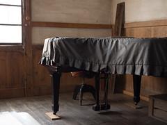 (Old piano) (wakyakyamn) Tags: school olympus jp   omd iida      em10markii