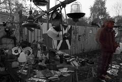 I See You (Velvet Heaven) Tags: berlin guy monochrome wall lights stand sad market chandelier lamps misery miserable effect seller flee mauerpark vibration vibrating