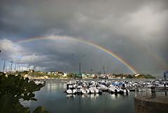 Ribadeo Puerto (emubla) Tags: espaa arcoiris puerto mar spain nikon barcos galicia lugo ribadeo d80 emubla