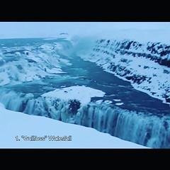 """หลังจากที่มาถึง Iceland แล้ว เรากับเพื่อนร่วมแก๊งค์ก็ได้ตะลุยเที่ยวสถานที่สำคัญและน่าสนใจหลายที่เลย • น้ำตก Gullfoss น้ำตกทองคำ และได้สมญานามว่า """"ไนแองการ่าแห่งไอซ์แลนด์"""" #PuppyloveFilm"""