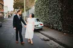 """Louisa & Rob. Streets of Collingwood. Pic:Circularink • <a style=""""font-size:0.8em;"""" href=""""http://www.flickr.com/photos/21623077@N04/26123589116/"""" target=""""_blank"""">View on Flickr</a>"""