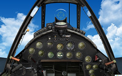 F-4U Corsair panel (gaucho_59) Tags: flight ww2 corsair panels usn fs2004 f4u vought simulations cfs2
