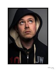 Self Portait 2 (AmboWill) Tags: portrait people grid nikon flash headshots homestudio individuals nikon50mmf14 d7100 nikonsb28dx cactusv6 80cmumbrellasoftbox