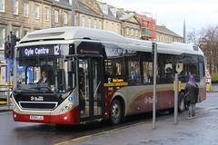 BT64 LJJ, York Place, Edinburgh, March 1st 2016 (Southsea_Matt) Tags: travel bus public canon march scotland spring transport 49 passenger 1855mm omnibus lothian route12 2016 vehichle lothianbuses yorkplace 60d rdinburgh volvo7905lh bt64ljj volvobrlh