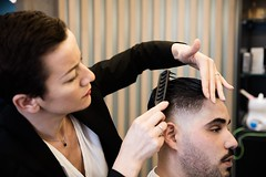 _T8A6234bd (labarbiredeparis) Tags: paris france art face sarah hair beard goatee moustache barbershop beaut barber salon innovation coiffeur barbe soin 1er extensions barbu coiffure capelli excellence masculin cheveux rasoir rasage 9e taille rase barbier shampooing condorcet coupechou barbiere coiffe bouc ras esthtique bertin pilation facehair poire barbire labarbiredeparis danielhamizi