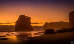 Dusk on Gibson's Steps Beach (mark.iommi) Tags: sunset beach coast dusk au shoreline australia victoria 12apostles princetown thegreatoceanroad gibsonsstepsbeach