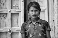 Rajasthan girl (Jorge Torrado) Tags: portrait blackandwhite bw india blancoynegro girl chica retrato portrt fille ritratto mdchen jaisalmer rajasthan  ragazza      jorgetorrado