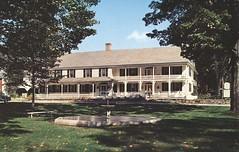 The Newfane Inn - Newfane, Vermont (The Cardboard America Archives) Tags: vintage restaurant inn vermont postcard