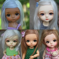 I am adding these wigs to my Etsy tonight (French Bulldog Works) Tags: brown cute alpaca girl yellow cat hair doll dolls little sophie tan fair wig tiny mohair miel lea belle wigs bjd normal custom beings abjd haru wir latidoll lati sbelle pukifee fairbeings fairbeingswig