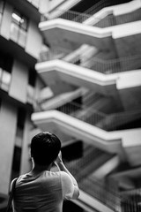 IMG_9637 (WillyYang) Tags: portrait blackandwhite 50mm streetphotography      50mmf12 50l 20160426