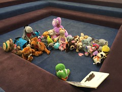 Story time! (scotchplainspubliclibrary) Tags: animal stuffed sleepover scotchplains scotchplainspubliclibrary
