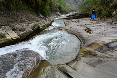 Yunlin Stream 1 (Bob Hawley) Tags: people pets mountains dogs nature water forest outdoors asia hiking taiwan pools streams nikon1755f28 yunlincounty nikond7100 taiwantugou qingshuiriver