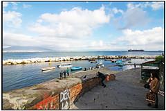 Napoli - Santa Lucia (gennaromignolo) Tags: italy italia mare campania barche napoli turismo lungomare vacanze santalucia porti panorami golfodinapoli porticciolo quartieri