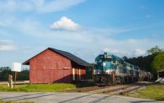 AR 405 Dunderrarch NC 11 Apr 2016 (Train Chaser) Tags: aberdeenrockfish ar405