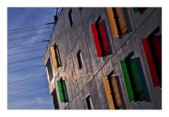 Crteil, nouveau quartier (Marie Hacene) Tags: architecture couleurs crteil immeuble valdemarne pointedulac